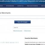 Create A List Of Favorite ShareASale Merchants