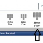 350 Flow Template For Single Product Displays