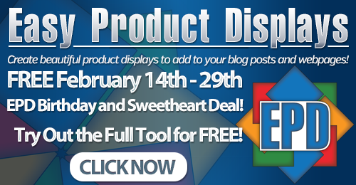 Easy Product Displays for Amazon and Zazzle Affiliates