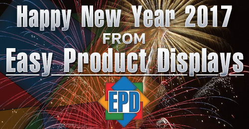 Happy New Year 2017 From Easy Product Displays!