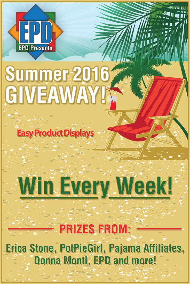 EPD Summer 2016 Weekly Giveaways!