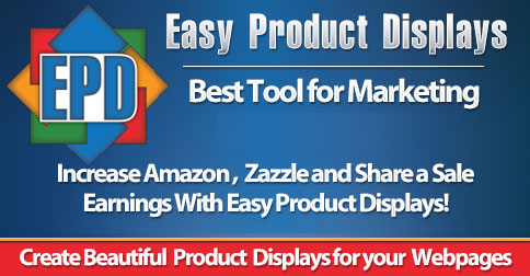 Use Easy Product Displays To Promote Your Amazon Merch T-shirts