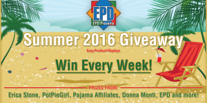 Summer Giveaway 2016 Week #2  June 19 - June 25 from Pajama Affiliates