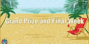 Grand Prize Summer Giveaway 2016 Week #7  July 24 - July 30 2016